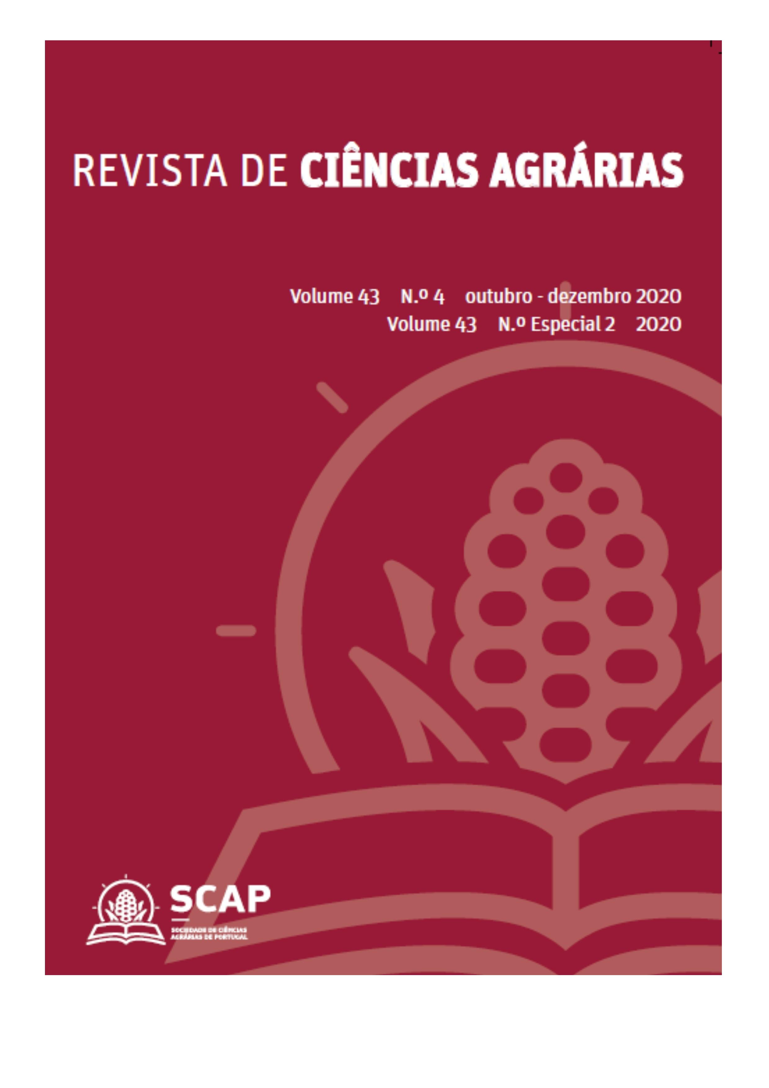 Ver Vol. 43 N.º nsp2 (2020): Revista de Ciências Agrárias, vol. 43, nº. especial 2