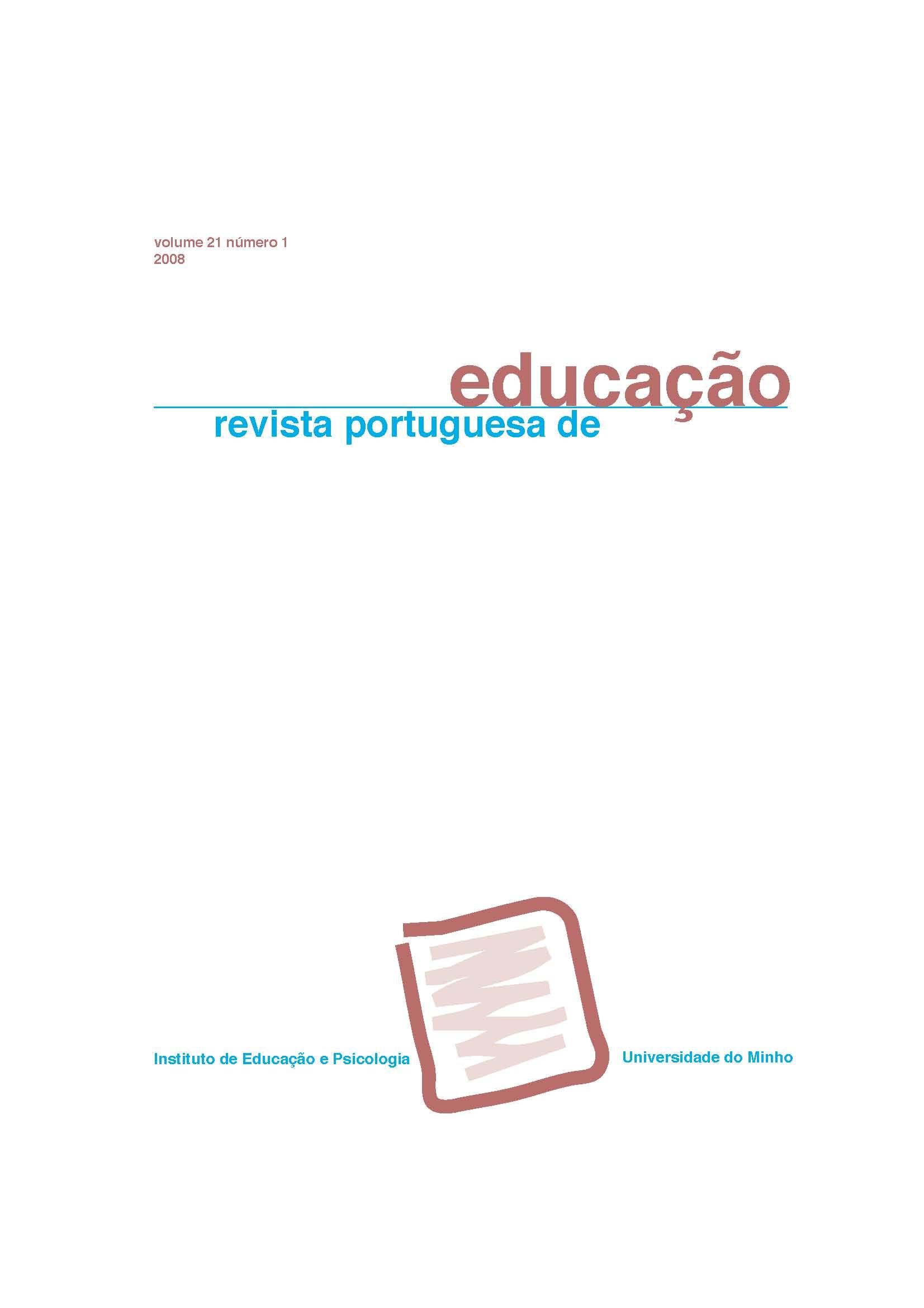 Ver Vol. 21 N.º 1 (2008)