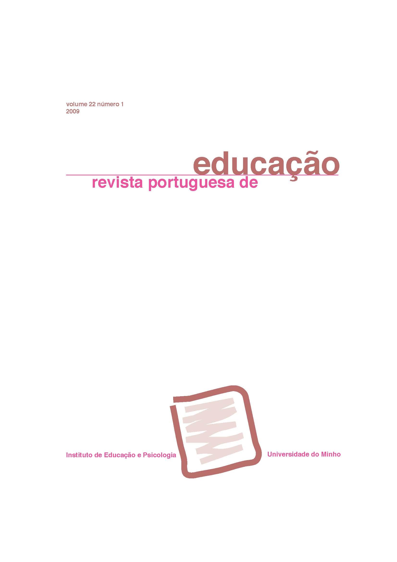 Ver Vol. 22 N.º 1 (2009)
