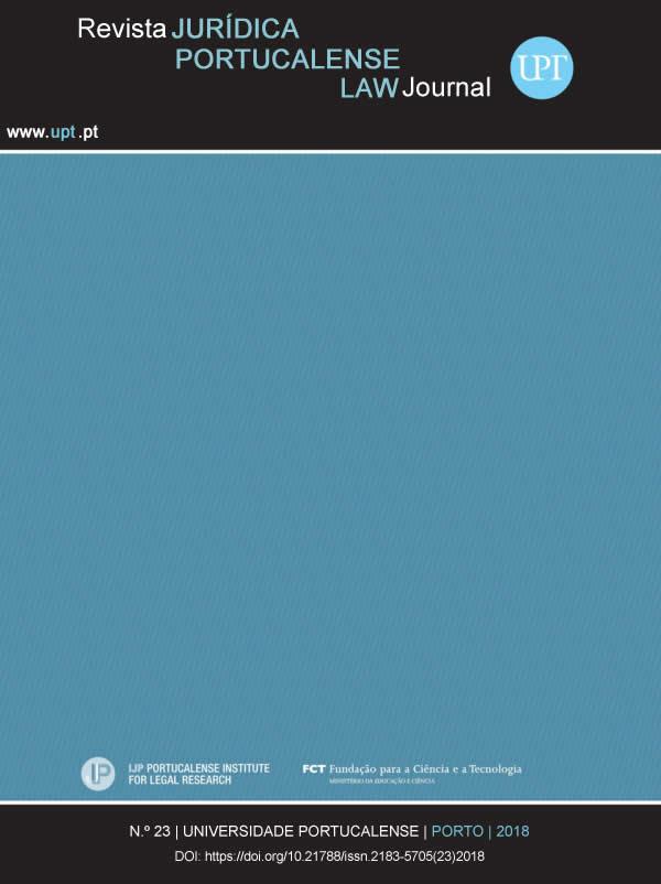 Ver Revista Jurídica n.º 23 (2018)