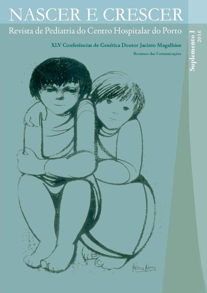 View Vol. 25 (2016): Supplement I: XLV Conferências de Genética Doutor Jacinto Magalhães