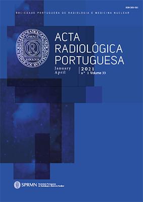 Ver Vol. 33 N.º 1 (2021): Acta Radiológica Portuguesa
