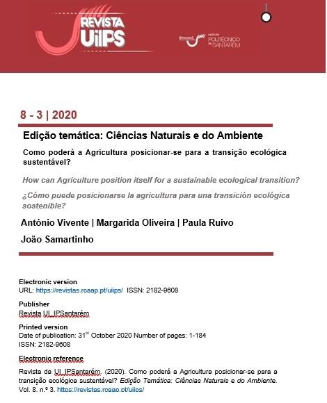 Ver Vol. 8 N.º 3 (2020): Edição Temática: Ciências Naturais e do Ambiente. Como poderá a Agricultura posicionar-se para a transição ecológica sustentável?